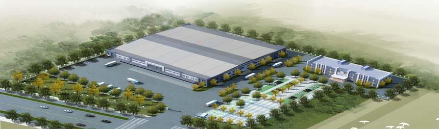 承接青岛海东润医药物流中心建设项目